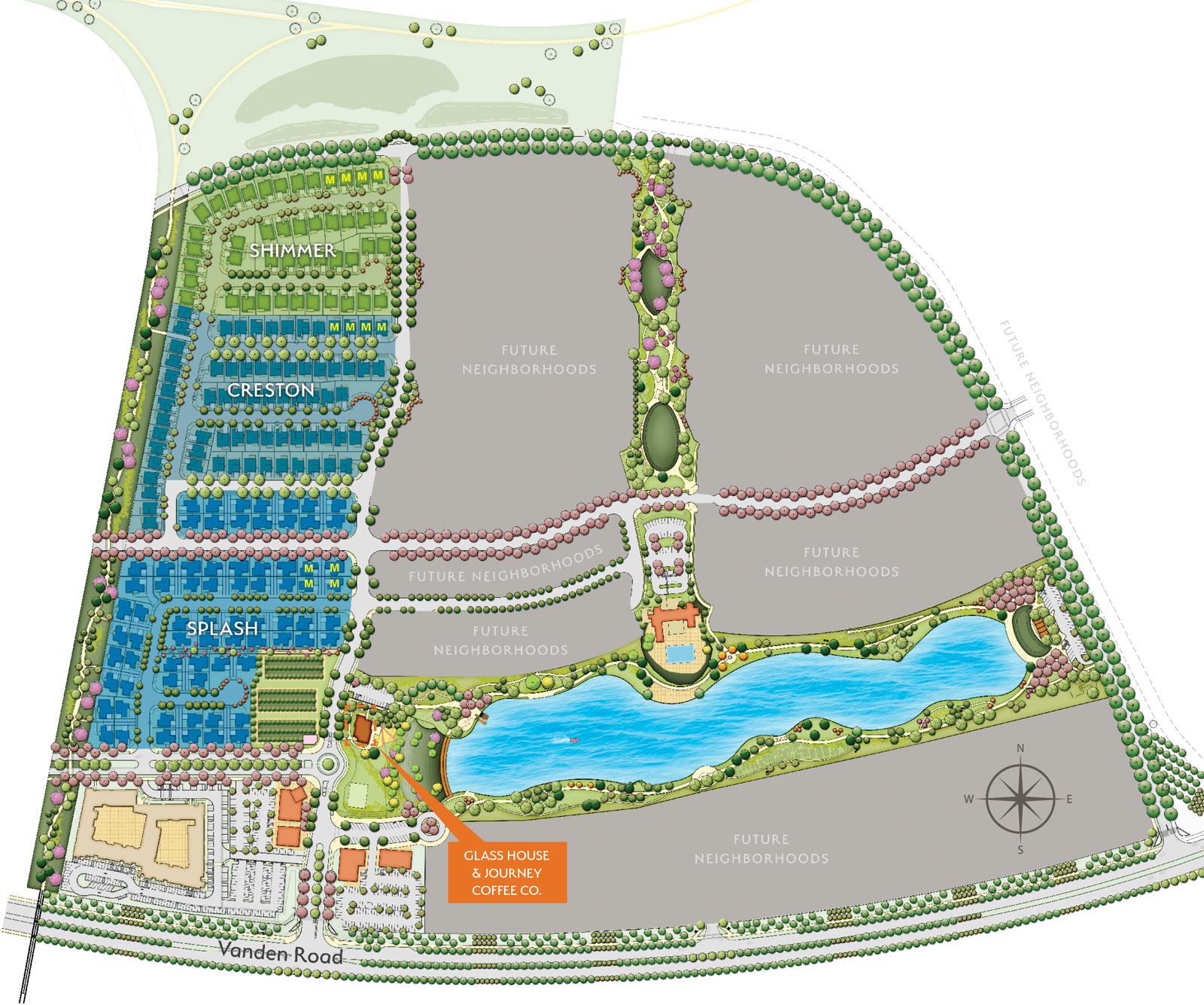 One Lake sitemap