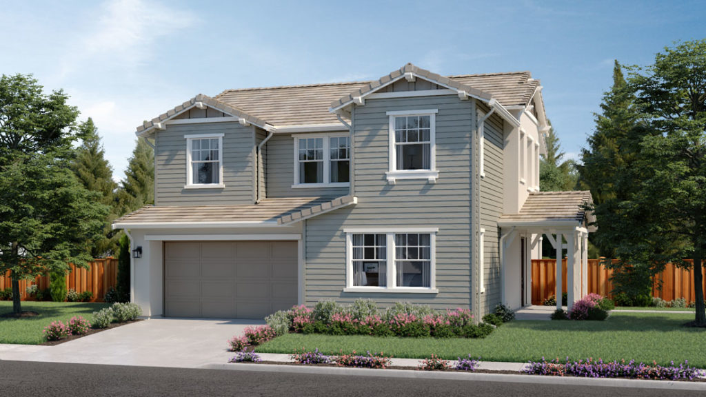 Exterior rendering of Residence 2B at Creston by Lennar at One Lake