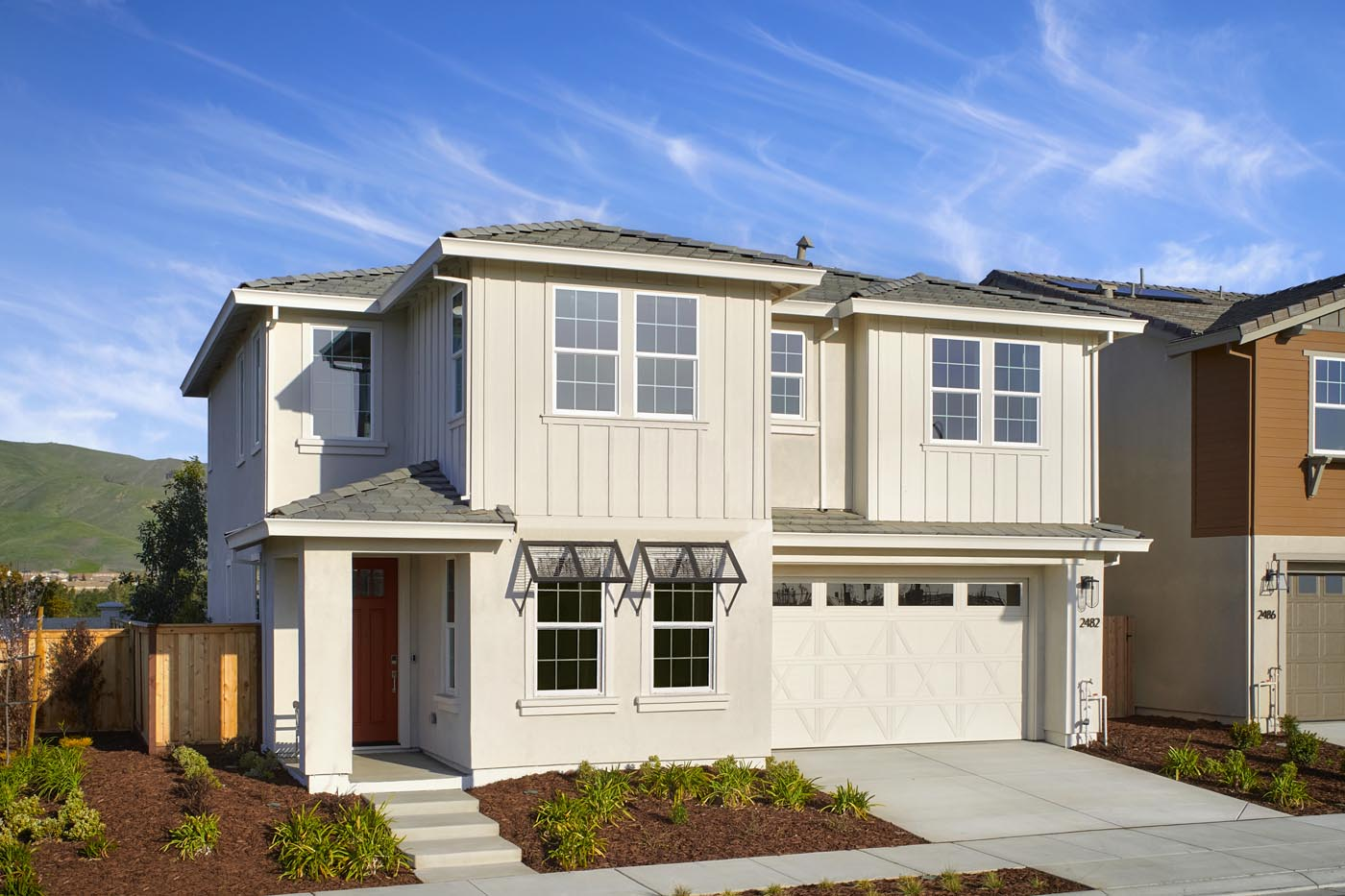 Exterior   Residence 1   Shimmer by Tri Pointe Homes