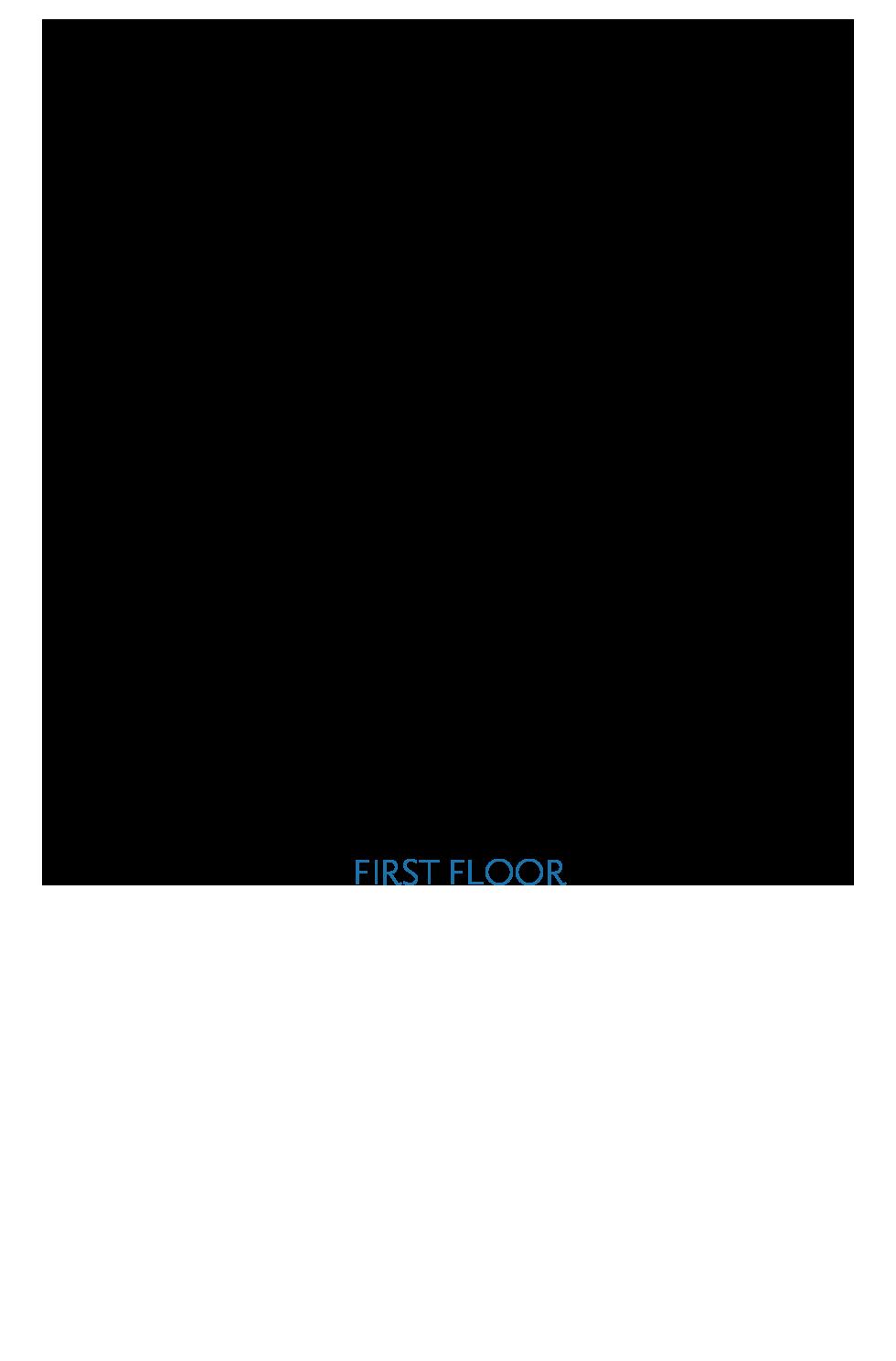 Splash at One Lake Floor Plan | Residence 1 | Floor 1