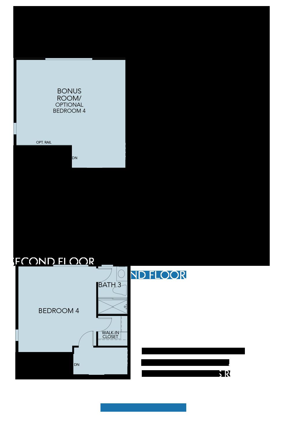 Splash at One Lake Floor Plan   Residence 1   Floor 2