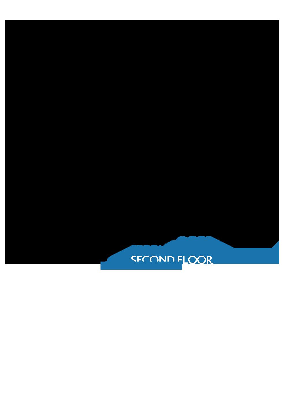 Splash at One Lake Floor Plan   Residence 2   Floor 2